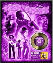JIMI HENDRIX ''Purple Haze'' Gold 45