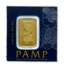 1 Gram .9999 PAMP Suisse - Snap Bar - Gold Bar