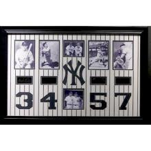 Yankee Greats - Plate Signatures!