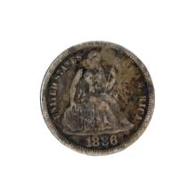 1886 Liberty Seated Dime Coin