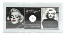 Extremely Rare Marilyn Monroe Clothing Swatch With Certification