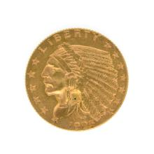 *1925 $2.50 U.S. Indian Head Gold Coin (JG-N)