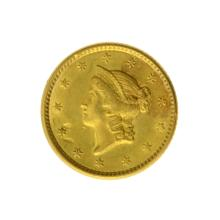 *1851 $1 U.S. Liberty Head Gold Coin - Great Investment - (JG PS)