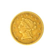 *1854-O $2.50 U.S. Liberty Head Gold Coin - Great Investment - (JG PS)