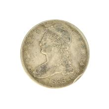 1838 Capped Bust Half Dollar Coin