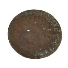 1877 Indian Head One Cent Coin