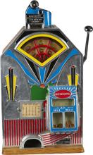 Extremely Rare 1-Cent Jennings Slot Machine c1933 -P-Due to laws regulating the sale of Antique Slot Machines, I, as the seller, will not sell to members in the states of AL, CT,HI, NE,SC, and TN. Bids from members residing in any of these states will be canceled. Buy It Now transactions with buyers in these states will be considered void.