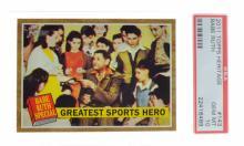 ^2011 Topps #141 Heritage Babe Ruth HOF POP 2 PSA 10