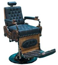 Restored Early Oak Barber Chair ''Hornung'' - Pick Up Only -P-