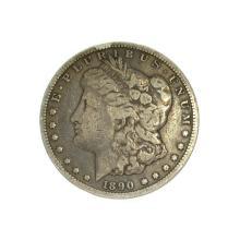 Rare 1890-CC Morgan Dollar Coin