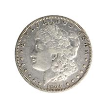 1894 Morgan Silver Dollar Coin