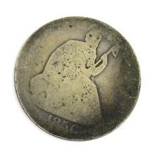 185X-O Liberty Seated Half Dollar Coin