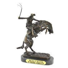 Bronco Buster- By Frederic Remington- Bronze Reissue