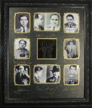 Gangster Legends - Plate Signatures