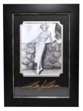 Rare Plate Signed Marilyn Monroe Photo Great Memorabilia  -PNR-