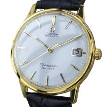*Omega Seamaster Calibre 565 Men's Gold Plate Automatic 34mm Watch c1960