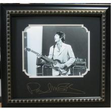 Paul McCartney Engraved Signature