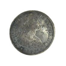 1797 Eigth Reales American First Silver Dollar Coin