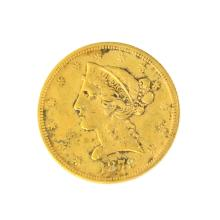 *1879 $5 U.S. Liberty Head Gold Coin - Great Investment - (JG PS)