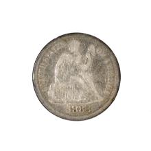 1883 Liberty Seated Dime Coin