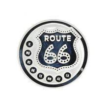 Beautiful 1 oz .999 ''ROUTE 66'' Fine Silver Round Coin