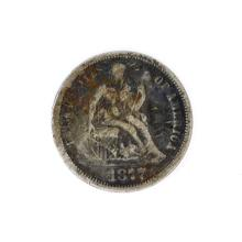 1877 Liberty Seated Dime Coin