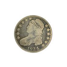 Rare 1824 Capped Bust Half Dollar Coin