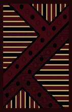 Gorgeous 4x6 Emirates Burgundy 526 Rug  Plush, High Quality Made in Turkey (No Rug Sold Out Of Country)