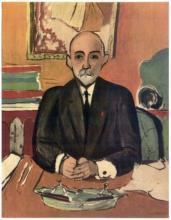 Henri Matisse ''''109 Auguste Pellerin'''' 18 x 24 Paper Image