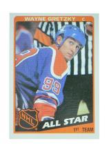 Extremely Rare NHL 1984 All-Star Wayne Gretzky Card