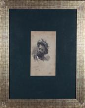 "Alejandro Ferrant y Fischerman (Madrid, 1843 - 1917) ""An Italian character """