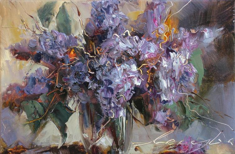 Bouquet of Lilac by Andrew Manaylo