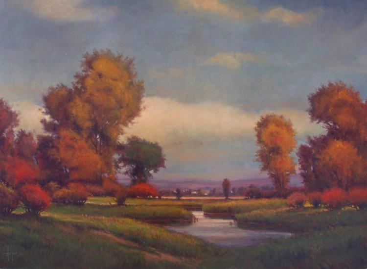 Autumn Pastures by Robert Harper