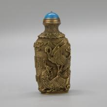 Chinese Bronze Snuff Bottle