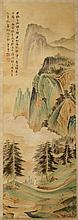 Chinese Scroll Painting Attributed to Zhang Daqian (1899-1983)