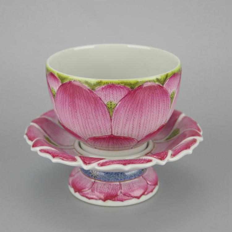 Set of Chinese Porcelain Tea Cup
