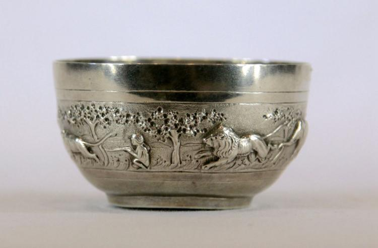 Vintage Chinese Silver Bowl