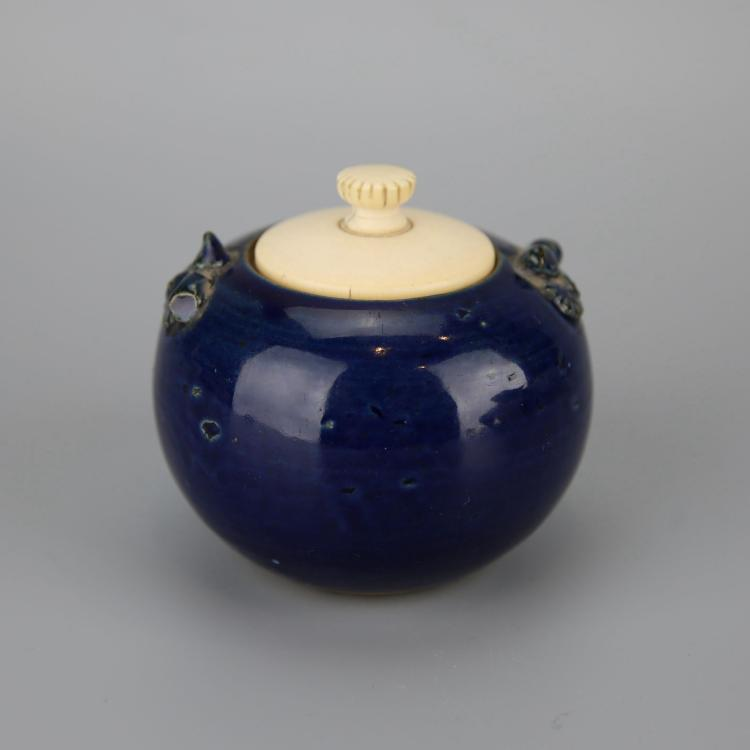 Chinese Cobalt Porcelain Water Pot