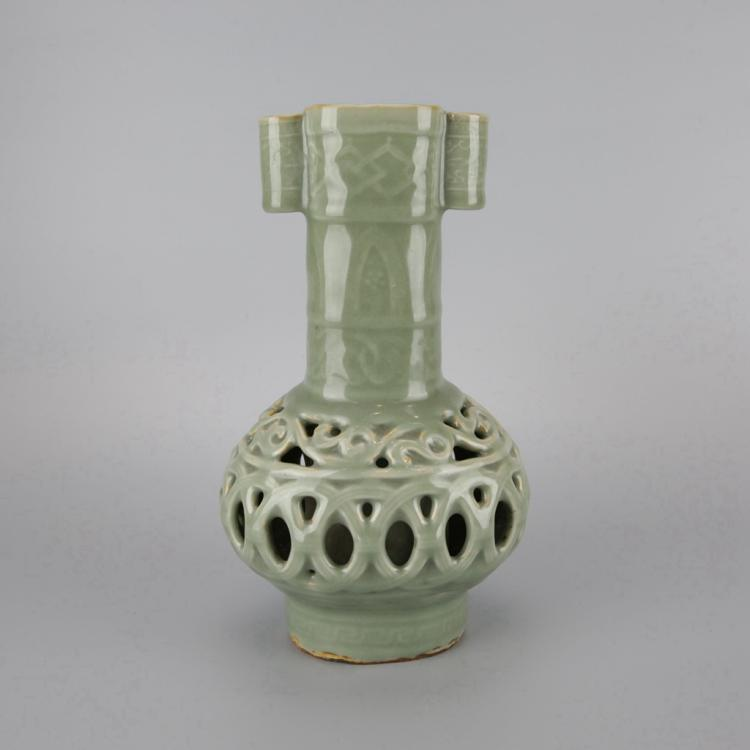 Chinese Longquan Style Porcelain Vase