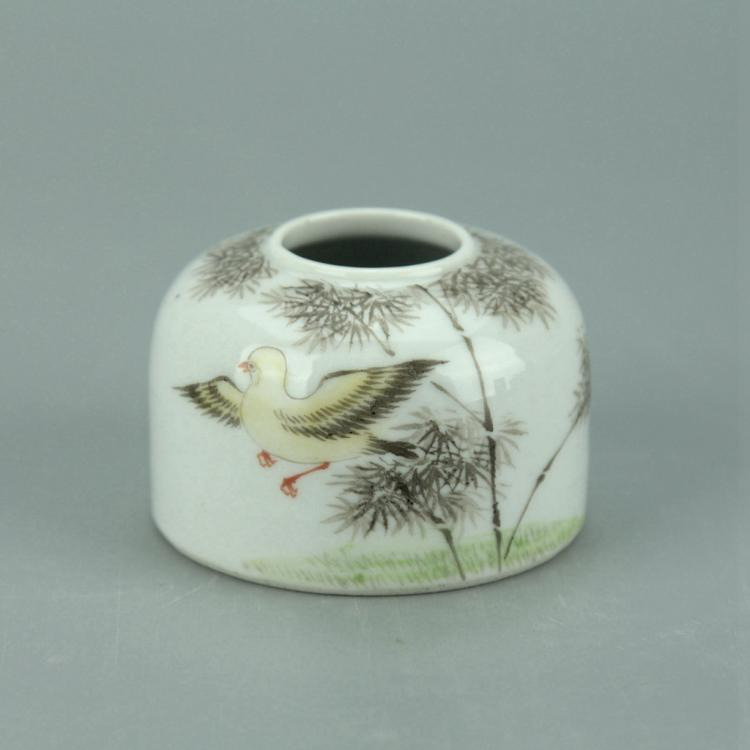 Chinese Wucai Porcelain Water Pot