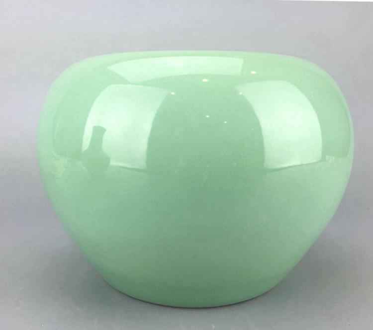 Chinese Pale Celadon Porcelain Water Pot