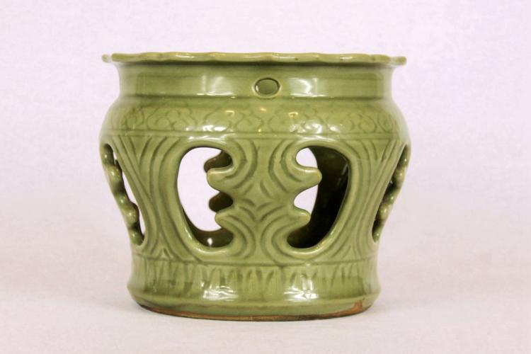 Chinese Longquan Celadon Porcelain Jardiniere