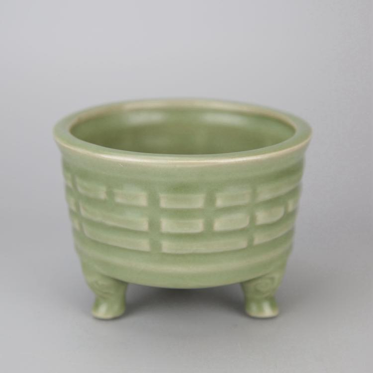 Chinese Celadon Glazed Porcelain Censer