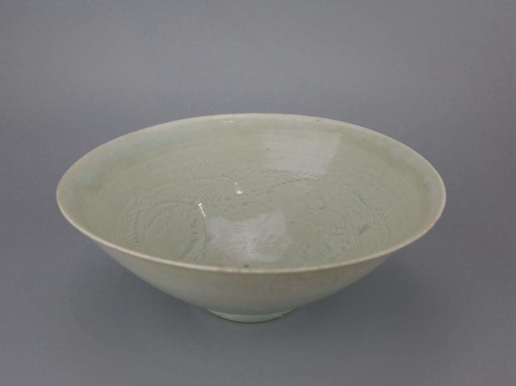Chinese Pale Celadon Porcelain Bowl