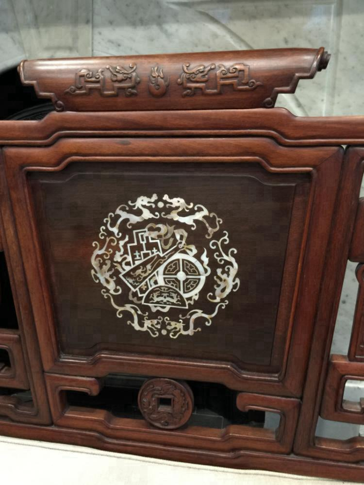 Set Of Antique Chinese Rosewood Furniture