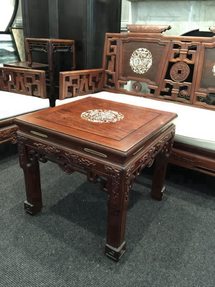 Set of antique chinese rosewood furniture for Asian furniture dc