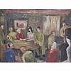 Foot, Victorine b1920 British AR, Watkins Pub when Potato Picking. 8.5 x 11, Victorine Foot, Click for value
