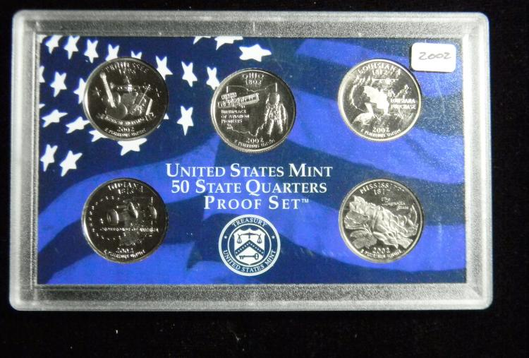 Silver 2002 S Tennessee Proof State Quarter Deep Cameo Combined Shipping
