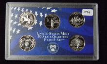 1999 S United States Proof Quarter Set