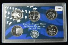 2000 S United States Proof Quarter Set